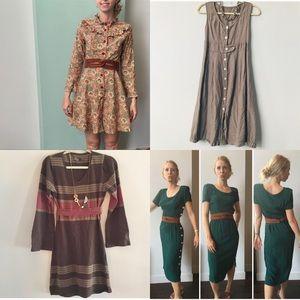VINTAGE DRESSES + prAna
